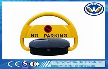 চীন IP68 Waterproof Steel Automatic Remote Car Parking Locks in Yellow পরিবেশক