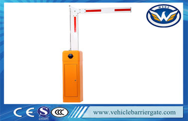 Nice Design Vehicle Barrier Gate System , Swing Out Arm Automatic Boom Barrier