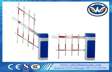 চীন Access Road Car Park Barriers , Vehicle Barrier Gates With Led Signal Lights কারখানা