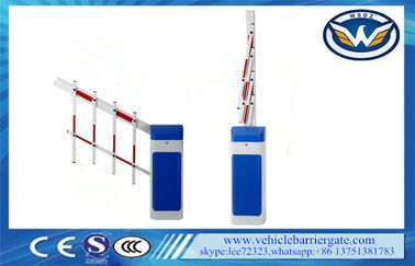 চীন Anti Collision parking lot barriers For Shopping Mall , 6 Seconds Folding Arm কারখানা