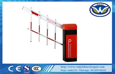 চীন Led Light Rubber Boom Road Safety Traffic Barrier Gate For Access Control System কারখানা