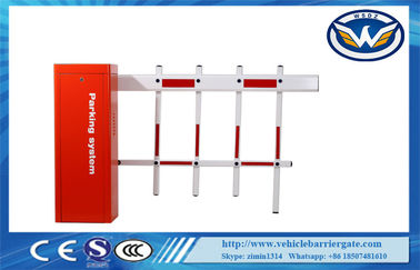 চীন AC220V Motor Remote Control Car Parking Barrier Gate For Toll System , CE / ISO পরিবেশক